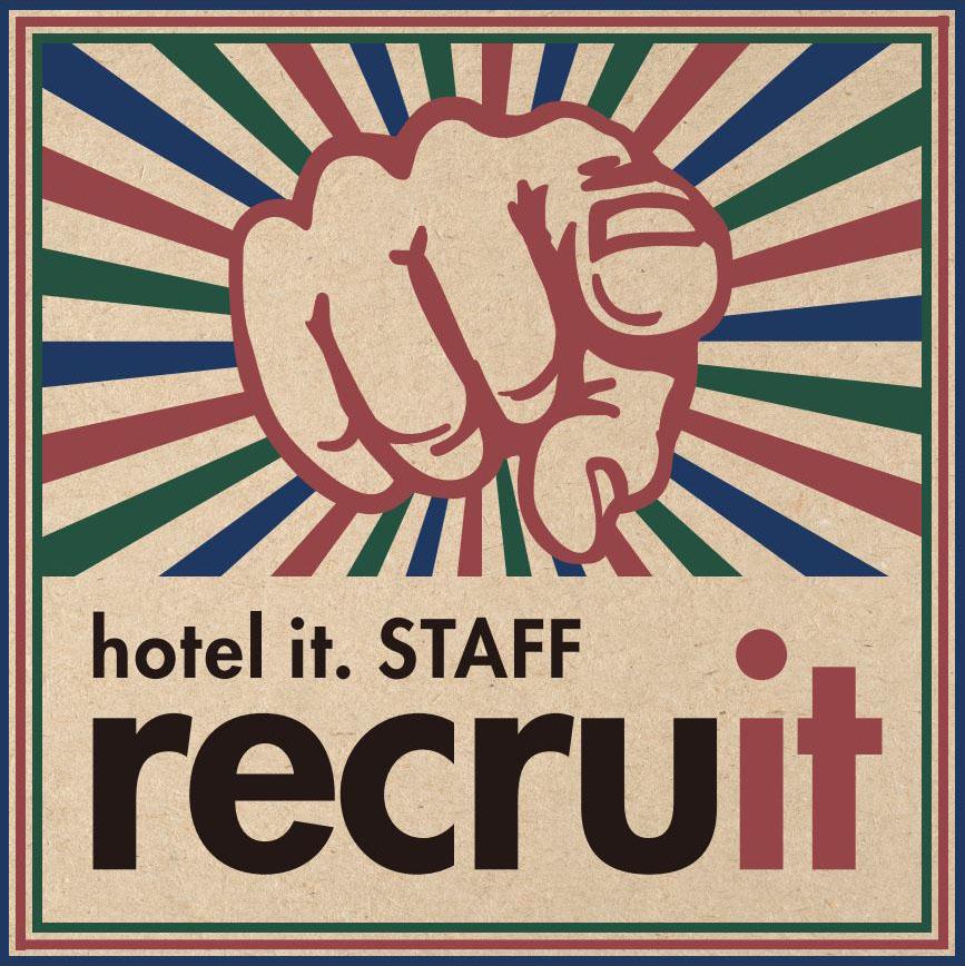 hotel it. オープニングスタッフ採用 recruit